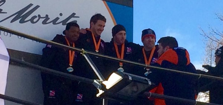 Bobsleigh bag bronze in St Moritz
