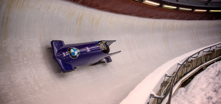 Bobsleigh back in action in Europe