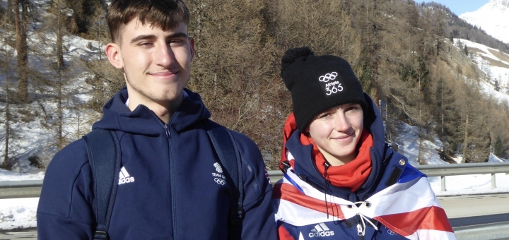 Teenagers do GB proud