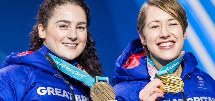 Gold for Yarnold, bronze for Deas