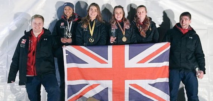 Medals galore for GB Skeleton