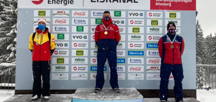 Gold & bronze for Skeleton duo