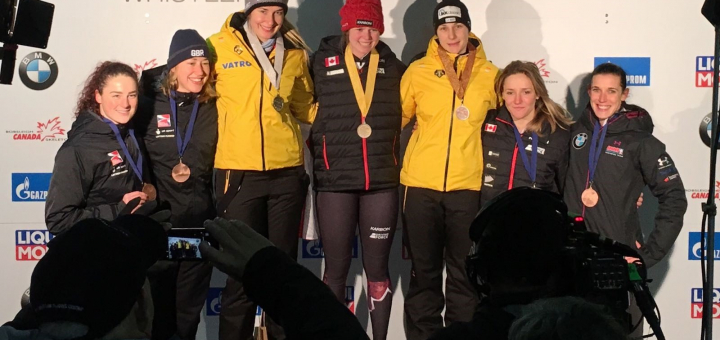 Top six for Yarnold & Deas
