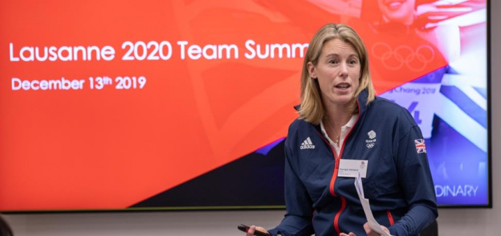 Team GB appoint first female Chef de Mission